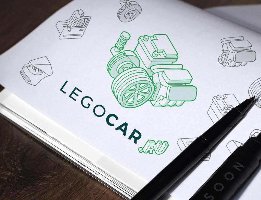Разработка логотипа для маркетплейса по продаже запчастей