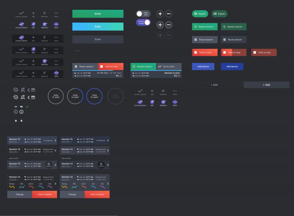 UI-кит мобильного приложения