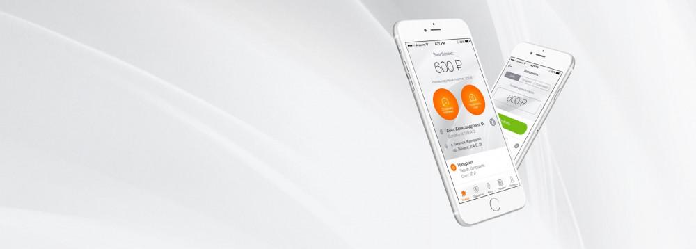 Разработка мобильного приложения  для интернет-провайдера
