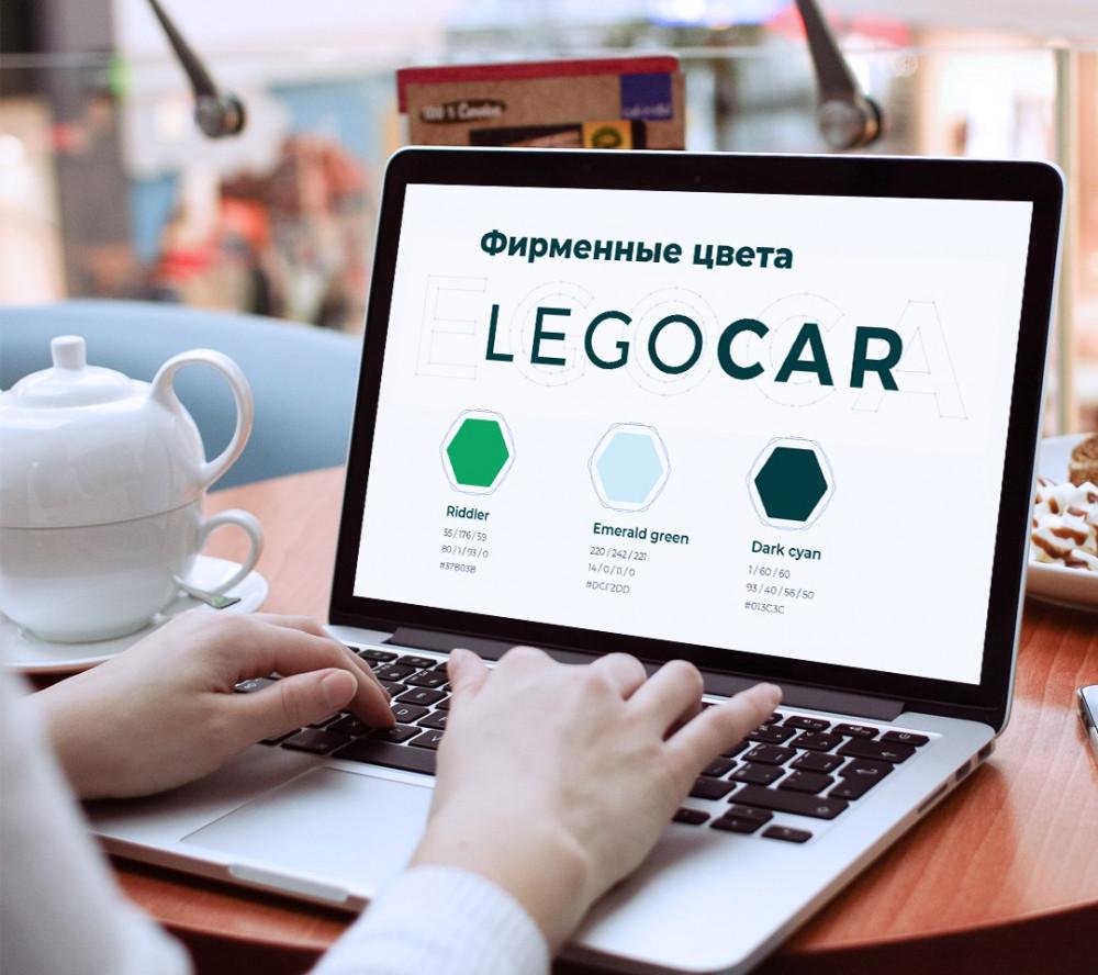 Разработка фирменного стиля для маркетплейса по продаже запчастей