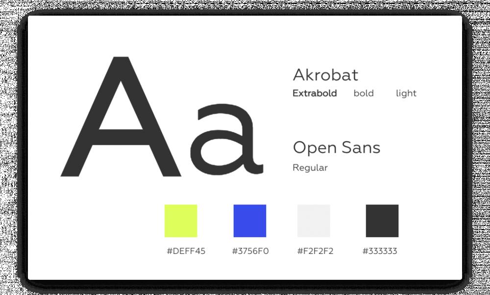 Шрифты и фирменный стиль